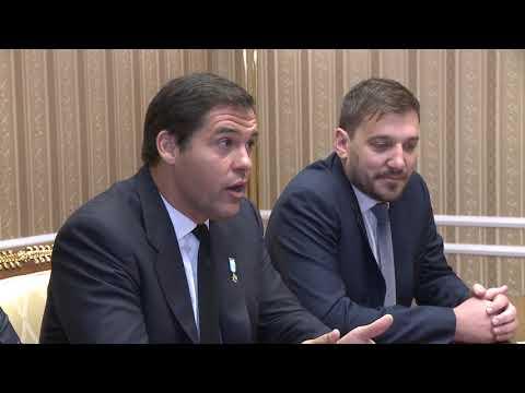 Президент Республики Молдова Игорь Додон провел встречу с французским принцем Луи Альфонсом де Бурбоном