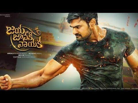 Bellamkonda Sai Srinivas Powerful Action Movie || Jaya Janaki Nayaka || Rakul Preet Singh
