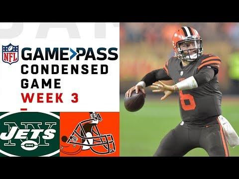 Jets vs. Browns | Week 3 NFL Game Pass Condensed Game of the Week