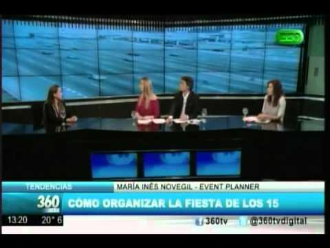 Entrevista en TV  a Maria Ines Novegil