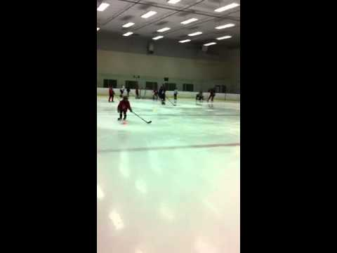 Novice hockey drills