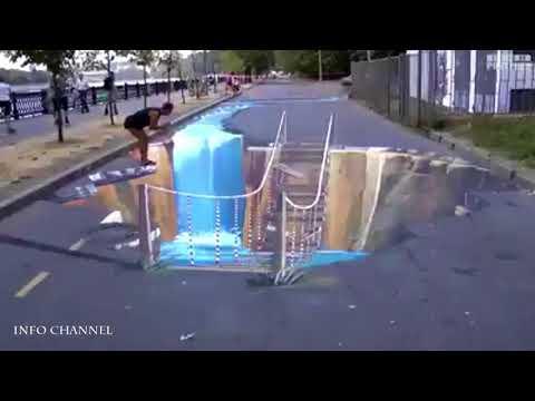 Download Video Video Lucu Ngerjain Orang Dengan Lukisan 3D!!!