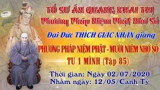 Phương Pháp Niệm Phật - 10 Niệm Nhớ Số - ngày 02/07/2020