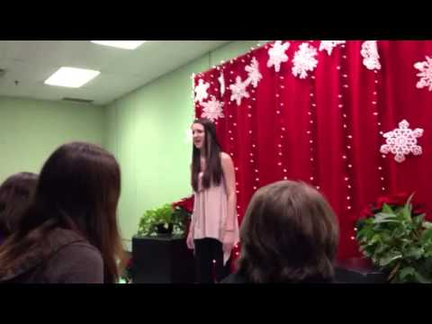 Kayla Paige Fuhst sings 'Stop and See Me' at Random Farms Showcase 12/15/12 (видео)