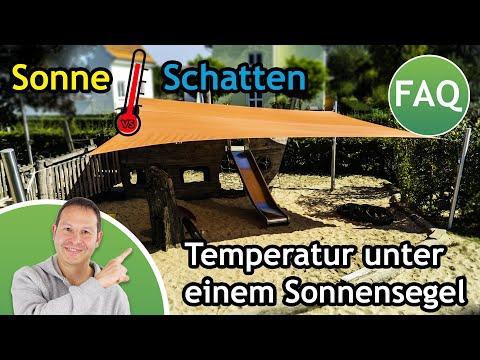 Komplett-Set-Sonnensegel 5x5m in luftdurchlässig & Kurbelsystem   Kindergarten - 4 Pfosten