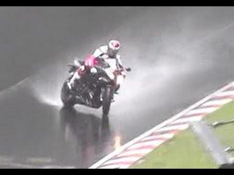 Motorcycle S1000RR Crash & Slide Nordschleife Nürburgring Motorrad Unfall Touristenfahrten