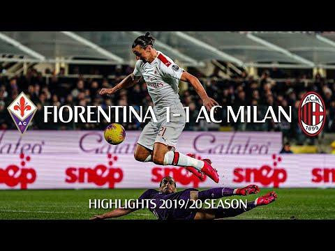 Highlights   Fiorentina 1-1 AC Milan   Matchday 25 Serie A TIM 2019/20
