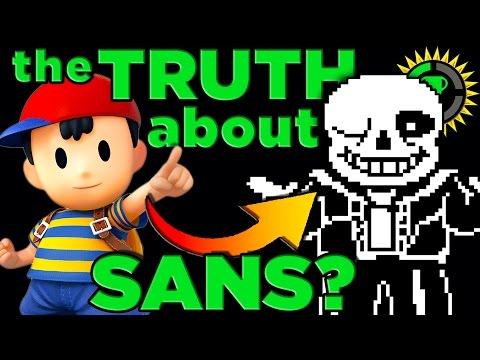 Game Theory: UNDERTALE - Sans's SECRET Identity! (видео)