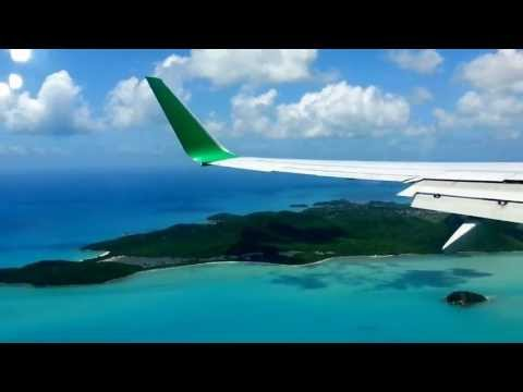 Landing in Antigua - United Airlines (Eco Livery)