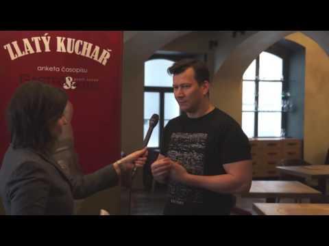 Otázky a odpovědi vítězů minulého ročníku ankety Zlatý kuchař – 1. místo – Oldřich Sahajdák