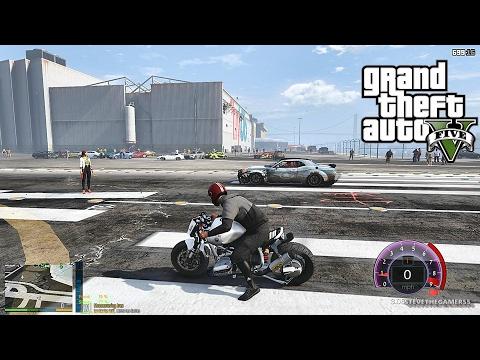 GTA 5 REAL LIFE MOD - PART 100 (GTA 5 REAL LIFE PC MOD) BIKES+ MULTI CRASHES (видео)