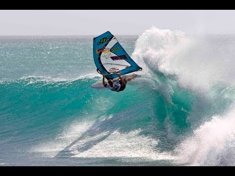 Survival Windsurfing on the North Shore, Hawaii