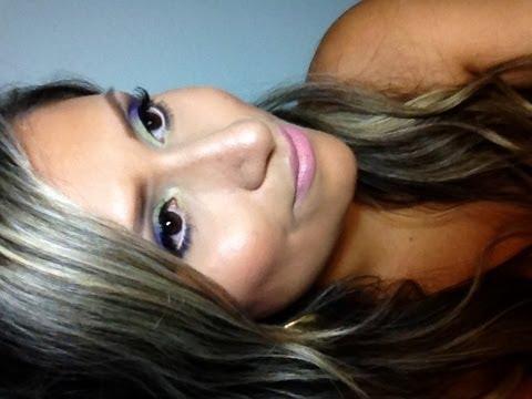 Maquillaje con sombras Esika por Julissa Salazar
