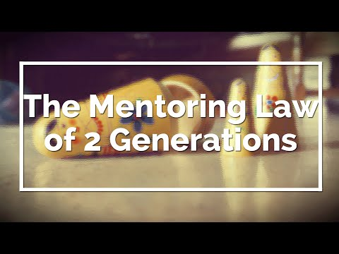 The Mentor Tree and the Law of 2 Generations