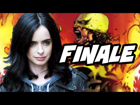 Jessica Jones Episode 13 Finale Review and Marvel Easter Eggs