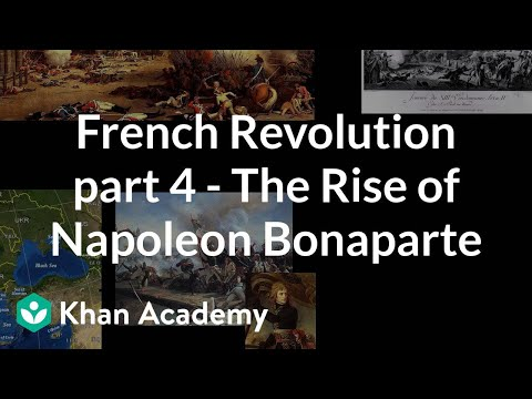 napoleon bonaparte french revolution