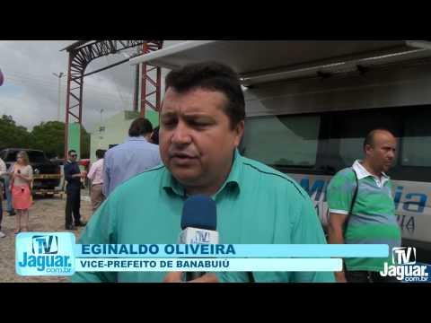 Eginaldo Oliveira fica satisfeito com a presença do Eunicio Oliveira em Banabuiú 15 02 2014