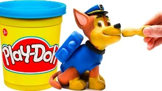 Video Paw Patrol Chase Stop Motion Play Doh claymation plastilina playdo Patrulla canina de cachorros MP3, 3GP, MP4, WEBM, AVI, FLV Desember 2017
