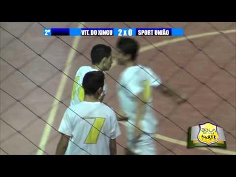 Vitória do Xingu 4x1 Sport União - Semifinal - VIII Copa SOS Vida de Futsal de Altamira Sub-17  2015