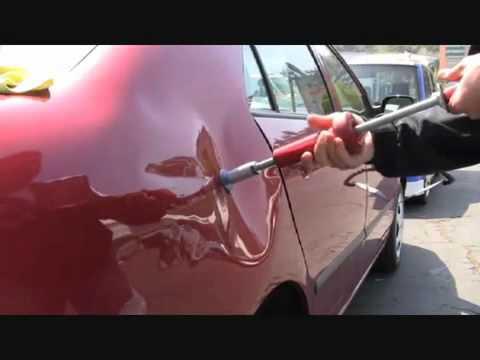 Как вытянуть вмятины на авто своими руками