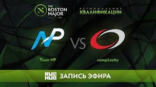 Team NP vs compLexity, Boston Major Qualifiers - America [LightOfHeaveN, Jam]