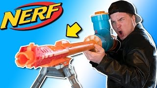 MOST POWERFUL NERF SNIPER RIFLE MOD!!! 1,000 MPH Illegal NERF Mod (DO NOT TRY THIS)