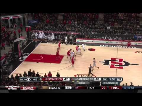 Aztecs Incredible Comeback (19-1 Run) Win Mountain West Conference Title (видео)