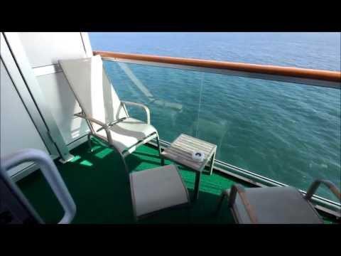 P&O Azura Balcony Cabin
