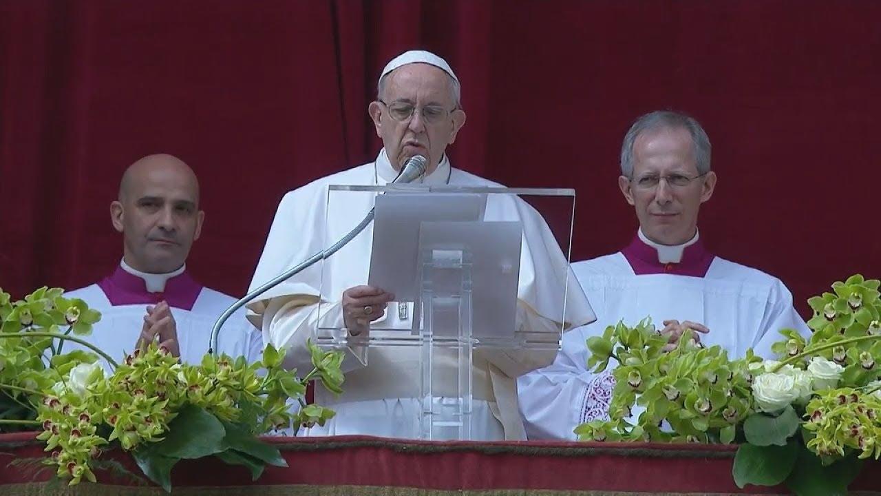 Βατικανό: Ο Πάπας Φραγκίσκος καλεί για ειρήνη στη Μέση Ανατολή στο μήνυμα του για το Πάσχα