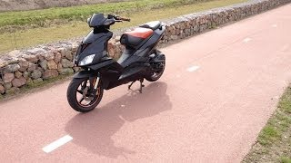 9. Aprilia Sr 50 R (Factory) Top Speed