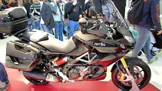 8. 2014 Aprilia Caponord 1200 Travel Pack Walkaround - 2013 EICMA Milan Motorcycle Exhibition