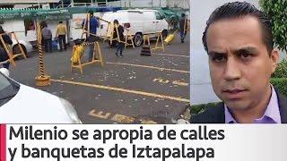 Arne aus den Ruthen Milenio se apropia calles y banquetas con burros en Iztapalapa