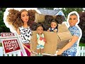 Download Lagu Barbie Sisters Move in New House - Kitchen Bedroom Pink  | Naiah and Elli Doll Show #1 Mp3 Free
