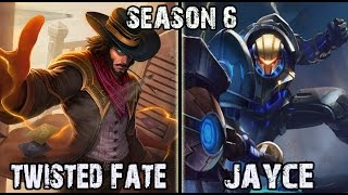 Dopa Twisted Fate vs Jayce MID Ranked Challenger Korea