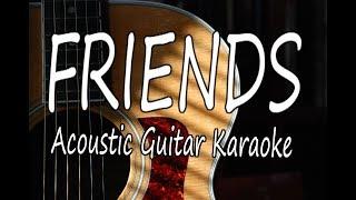 Video Friends - Marshmello & Anne-Marie (Acoustic Guitar Karaoke) MP3, 3GP, MP4, WEBM, AVI, FLV Juni 2018