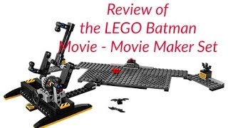 What a great starter set for anyone wanting to make stop motion movies!The LEGO Batman Movie: Movie Maker SetSET #: AGES: 8+YEAR: 2017PART COUNT: 152MSRP: $19.99 USDHelp support this channel and visit my Bricklink store. Here's the link: http://www.bricklink.com/store/home.p...Don't hesitate to follow me on Instagram: https://www.instagram.com/coolkidbricksLEGO® is a trademark of the LEGO Group of companies which does not sponsor, authorize or endorse this site.