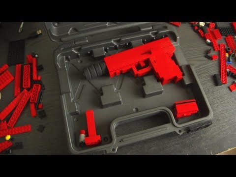 "Lego Glock 36 ""Tactical"" Version"