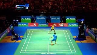 Video Badminton Highlights - Lee Chong Wei VS Chen Long - All England 2014 MS Finals MP3, 3GP, MP4, WEBM, AVI, FLV September 2018