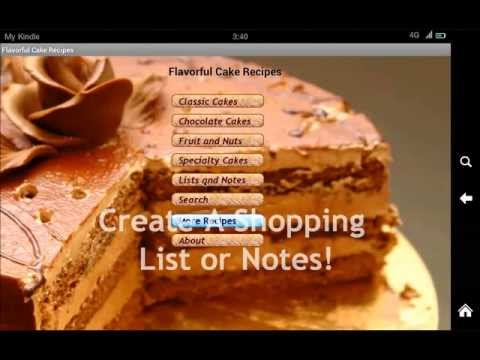 Video of 300 Sheet & Layer Cake Recipes
