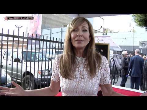 Allison Janney Walk of Fame Ceremony