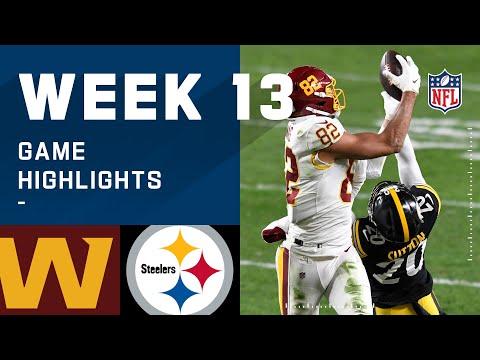Washington Football Team vs. Steelers Week 13 Highlights | NFL 2020