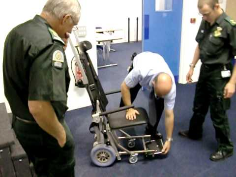 c-max Powered Stairclimber Ambulance Demonstration