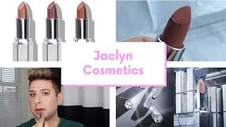 Video WILL I USE MY JACLYN COSMETICS LIPSTICKS? | Brett Guy Glam MP3, 3GP, MP4, WEBM, AVI, FLV Juni 2019