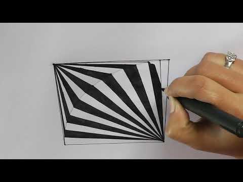 5 drawing trick to draw like a pro || geometric design tutorial