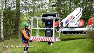 Dino 220XTC og Dino DT3500L henger