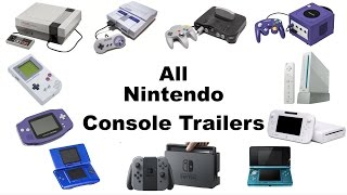 All Main Nintendo Console Trailers (1985-2016)