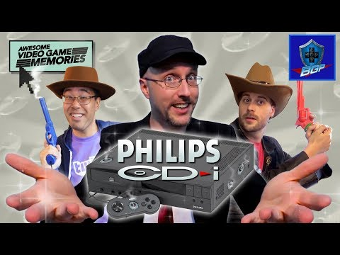 Philips CD-I Review w/The Nostalgia Critic and Magnetrex - Awesome Video Game Memories