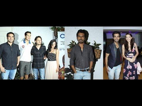 Arbaaz ,Kalki, Nawazuddin & Other Celebs At Special Screening Of Movie Citylights