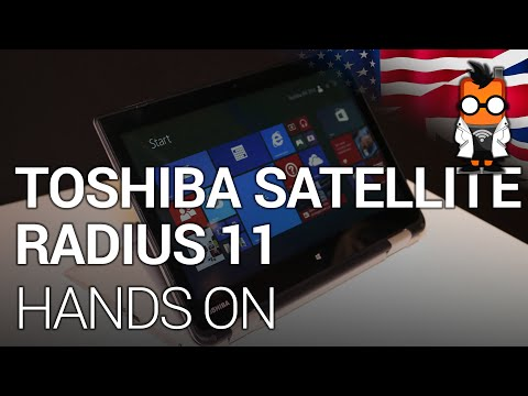 Toshiba Satellite Radius 11: Hands On