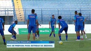 MAC se prepara para estreia na 'bezinha' do Paulista diante do Vocem
